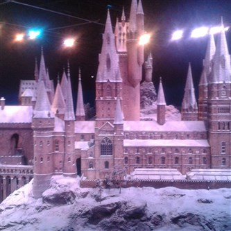 Warner Bros. Studio - Hogwarts in the Snow